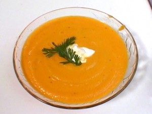 Ginger Carrot Soup Food Network