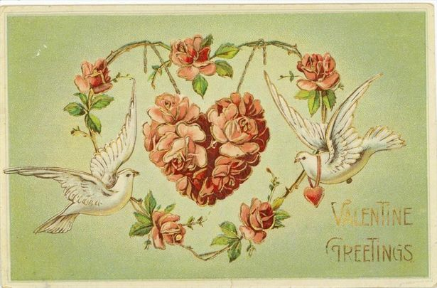 Just for Fun Valentine Factoids A Second Me – Vintage Victorian Valentine Cards