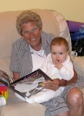 Mother-in-Law with grand-daughter Addie.